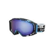 Bolle Gravity Snow Goggles - Matte Black and Blue Zenith Frame - Aurora Lens - 21295