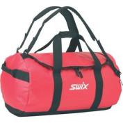 Swix Ski Gear Water Resistant Gear Bag Duffle, Large, Black