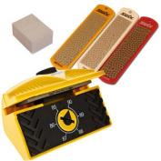 Expert Edge Care Kit Ski Side Angle Tool +3 Swix Diamond Stones +Gummi stone