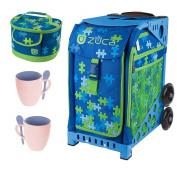 Sport Frame ) with Puzzle Insert Bag, Lunchbox Mug Set Bundle