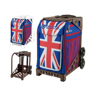 ZUCA Union Jack Sport Bag Only with Sport Frame