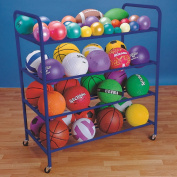 S & S Double Wide All Ball Rack
