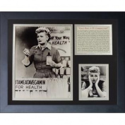 Legends Never Die I Love Lucy Vitameatavegamin Framed Photo Collage, 28cm x 36cm