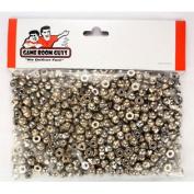 Bag of 500 Pinball Post Caps - Steel Acorn Nut #6-32