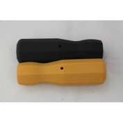 2 Tornado Foosball Plastic Handles - Black & Yellow