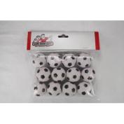 12 Soccer Ball Style Foosballs for Tornado Dynamo or Shelti Tables