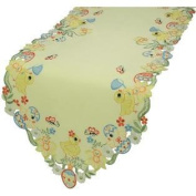 Spring Baby Chicks Easter Table Runner 38cm by 140cm