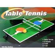 Mini Portable Tabletop Table Tennis (Ping Pong) Game Set