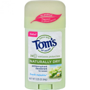 Toms of Maine Deodorant - Naturally Dry - Stick - Fresh Meadow - 70ml - Case of 6