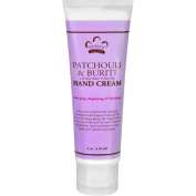 Nubian Heritage Hand Cream - Patchouli and Buriti - 120ml - Gluten Free - For Soft Smooth Hands