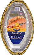 Reynolds Non-Stick Fish Pan, 3 ct by Reynolds