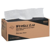 Kimberly-Clark WypAll L10 Utility Wipes - 30cm x 27cm 2-ply utility-wipes disposable by Kimberly-Clark