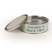 Pintail Candles Large 3 Wick Scented Candle Tin - Jasmine & Black Olive