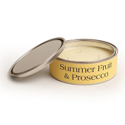 Pintail Candles Large 3 Wick Scented Candle Tin - Summer Fruit & Prosecco
