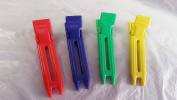 Lot of 3 Nylon Double Prong Clips 100 ct