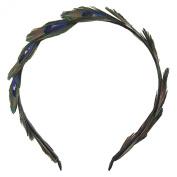 BININBOX Womens' Beauty Peacock Feather Headband Special Cosplay Party Headpiece