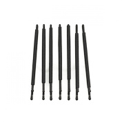 RickyCare No-Crease Large Black Bobbi Pins