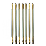 RickyCare No-Crease Medium Gold Bobbi Pins