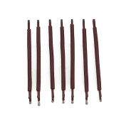 RickyCare No-Crease Medium Brown Bobbi Pins