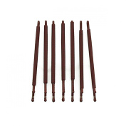 RickyCare No-Crease Large Brown Bobbi Pins