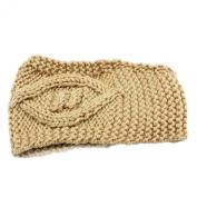 Tonsee Women's Winter Warm Hat Skiing Cap Knitted Empty Skull Beanie Headband