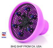 Hair Dryer Diffuser Retractable Portable Folding Space Saver Light Weight - Purple