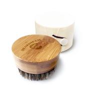 The Beardman Beard Brush- 100% Boar Bristles - With a a Beautiful Wodden Gift Box