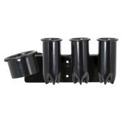 Saloniture Blow Dryer & Hair Iron Holder - Salon Appliance Rack w/ Clamp