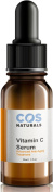 BEST VITAMIN C SERUM 20% DERMATOLOGIST RECOMMENDED Clinical Strength Vitamin C B E Ferulic & Hyaluronic Acid Natural Organic Best Selling Advanced Anti Ageing Face Skin Care Cream 30ml by COSNATURALS