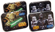 Cotton Buds Classics Cotton Swab Tins, Star Wars, 4 Count