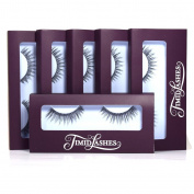 Sofia by Timid Lashes | Six-Pack Premium Quality Natural False Eyelashes