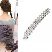French Hair Style Fashion Hair Braider Holder Twisting Styling Twister DIY Curly Lacing Tool Stick Maker AOSTEK