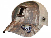 Illinois Fighting Illini TOW Camo Mesh Prey Adjustable Snapback Hat Cap