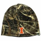 Illinois Fighting Illini TOW Realtree Max5 Navy Seasons Reverse Beanie Hat Cap