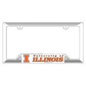 Illinois Fighting Illini Plastic Licence Plate Frame