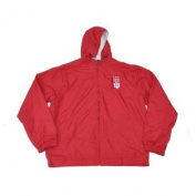 Indiana Hoosiers Gear for Sports Red Long Sleeve Hooded Jacket with Pockets