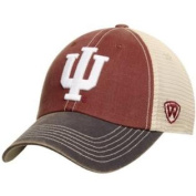 Indiana Hoosiers Top of the World Red Black Offroad Adj Snapback Hat Cap