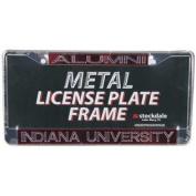 Indiana Hoosiers Metal Alumni Inlaid Acrylic Licence Plate Frame