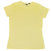 Iowa Hawkeyes Gear for Sports Women Yellow Soft Cotton Short Sleeve T-Shirt