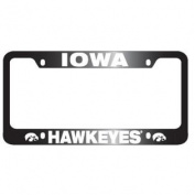 Iowa Hawkeyes Full Colour Metal Licence Plate Frame