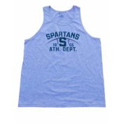 "Michigan State Spartans Champion Grey Green Logo ""1855 ATH. DEPT."" Tank Top"