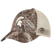 Michigan State Spartans TOW Camo Mesh Prey Adjustable Snapback Hat Cap