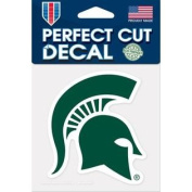 Michigan State Spartans Green Perfect Cut Decal Sticker