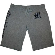 Michigan Wolverines Women's Campus Couture NCAA Shorts Grey