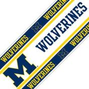 NCAA Michigan Wolverines Football Self-Stick Wall Border