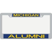 Michigan Wolverines Metal Alumni Inlaid Acrylic Licence Plate Frame