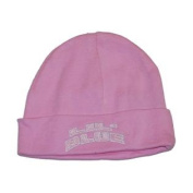 Michigan Wolverines Top of the World Infant Pink Lil' Blue Cuffed Beanie Cap