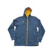 Minnesota Gophers Grey with Back Logo Zip Up Hooded Jacket