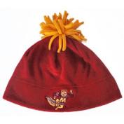 Minnesota Golden Gophers GII Embroidered Logo Maroon Fleece Pom Cap Hat Beanie