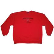 Nebraska Cornhuskers Embroidered Red Sweatshirt